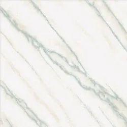Gloss Volakas Nano Polished Vitrified Floor Tile, Thickness: 9 mm, Size: 600 x 600 mm
