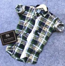 Men Printed Collar Stylish Shirt