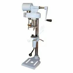 Manual (hand Operated) Labappara Hand Operated Bottle Cap Sealing Machine, For Laboratory Lab Use Only