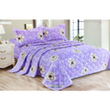 Violet Double Bed Sheet