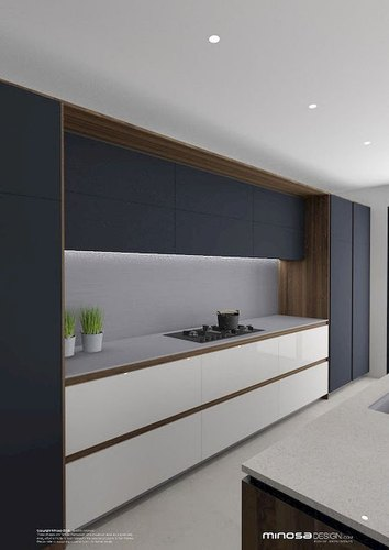 modular kitchen at rs 1500square feet  मॉडर्न किचन