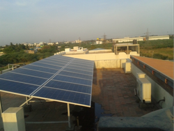 Solar Roof Top Power Plant