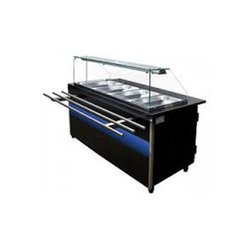 SS 4 Vessel Bain Marie Counter