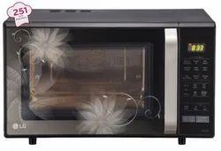 LG Black MC2846BCT Microwave Oven, Capacity: 28 Ltr