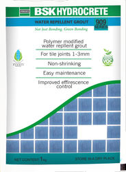Water Repellent Grout