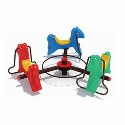 3 Seat Horse Merry Go Round