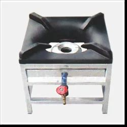 SS Catering Burner, Size: 12X12