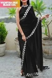 Ladies Vichitra Silk Saree