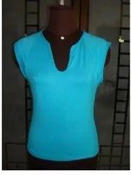 kints viscose Blue plain t shirt, Age Group: 17-25, Quantity Per Pack: 6