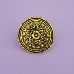 Antique Gold Alloy Finger Rings