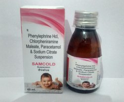 SAMCOLD SUSPENSION, Packaging Type: Bottle, Packaging Size: 60 Ml