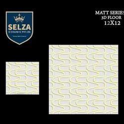 Selza Ceramic Floor Tiles, Thickness: 5-10 mm
