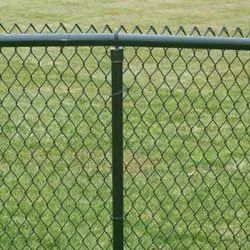 Pvc Coated Chian Link Wire Fencing
