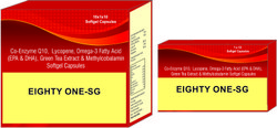 Co-Enzyme Q10 Lycopene Omega-3 Fatty Acid (EPA and DHA) Green Tea Extract and Methylcobalamin
