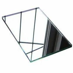 Rectangular Mirror Glass, For Home, Office