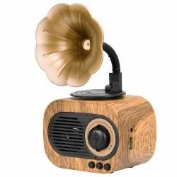Branded Retro Style Gramophone Bluetooth Speaker