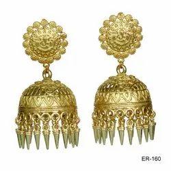 Oxidized  Gold Polished Jewellery