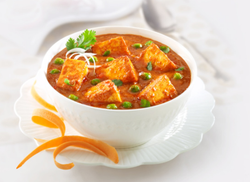 Matar Paneer Recipe Photographic Service