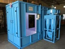 Batch Type Powder Coating Booth