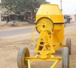Electric Engine Universal Concrete Mixer Machine, For Construction, Model Name/Number: HM-002