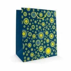 Printed Paper Bag, For Shopping, Capacity: 2-5 Kg