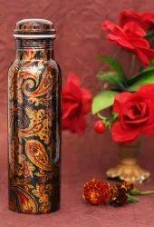 Sublimation Print Copper Water Bottle