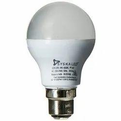 Round 9W Syska LED Bulb, Voltage: 220 V