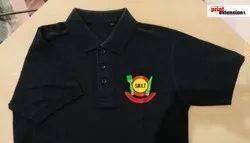 Polo Black Customize T - Shirt
