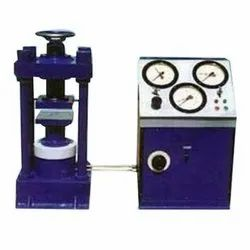 Compression Testing Machine Electrically Operated 4 Pillar Welded type