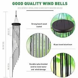 Metal Wind Chimes Decorative for Home