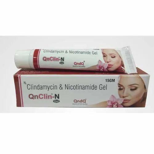 Clindamycin and Nicotinamide Gel