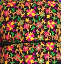 Georgette Cotton Katchi Embroidery Fabric