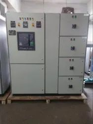 Capacitor bank with controller APFC panel