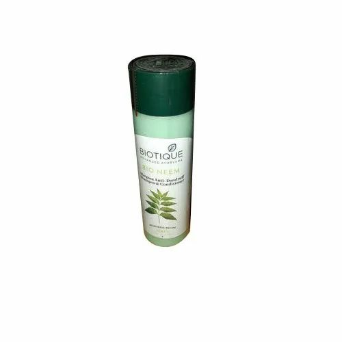 380 mL Biotique Bio Neem Shampoo and Conditioner, Packaging Type: Box