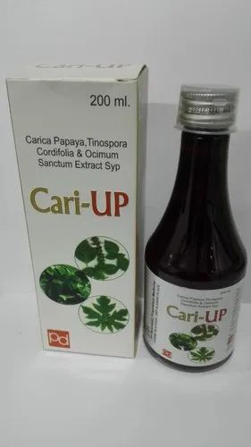 Carrica Papaya Leaf (Extract),Tinospra Cordifollia (Extract)&Tulsi Leaves (Extract)