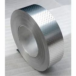 6000 mm Stainless Steel SS Perforated Coil, For Industrial