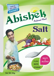 White Abishek Rock Salt, Packaging Size: 1 Kg