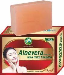 Aloevera With Haldi Chandan Cleansing Bar