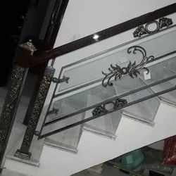 Glass Staircase Railing