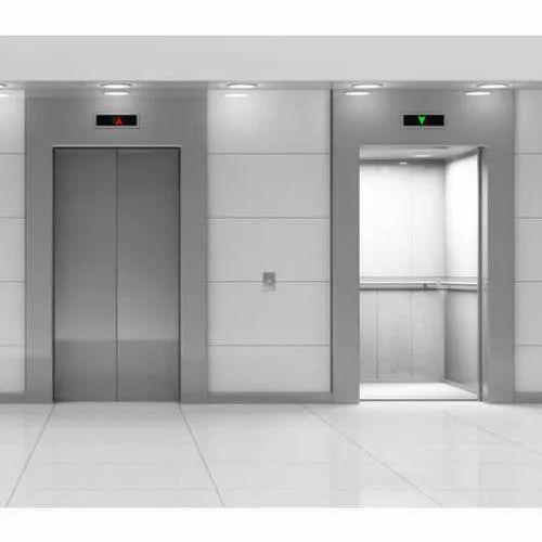 Mild Steel MRL Elevator, Without Machine Room