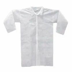 Non Woven Plain White Disposable Apron