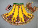 Heavy Embroidered Chaniya Choli - Indian Kids Lehenga Choli - 20 Size - 2 to 4 Year