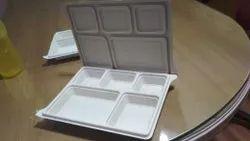Corn Starch Light White Take Away Food Boxes
