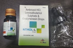 Ambroxol HCL Levosalbutamol Sulphate and Guaiphenesin Oral Drops