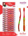 Merlin Red Prince Toothbrush