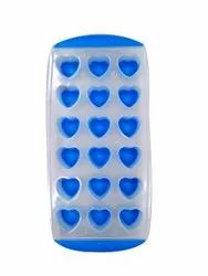 Plastic + Silicon Assorted ICE TRAY, Opp