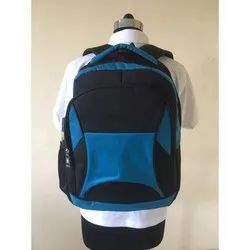 Polyester Plain Shoulder Backpack