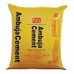 OPC (Ordinary Portland Cement) Ambuja Cement, Packaging Size: 50kg, Cement Grade: Grade 53