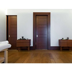 Rectangle Brown Polished Panel Doors