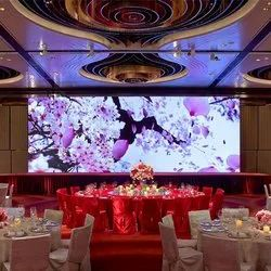 led screen stage decoration